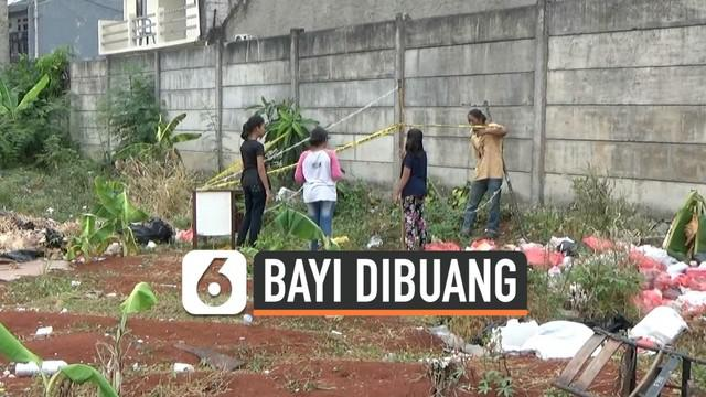 Mayat bayi ditemukan warga Jurangmangu, Tangerang Selatan, Banten. Mayat bayi ditemukan terbungkus plastik hitam, dan diduga dilempar pelaku ke dalam kebun.
