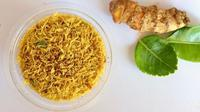 Serundeng daging sapi. (dok. Instagram @dapurabik/https://www.instagram.com/p/CNwkr01FqPK/)