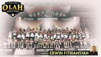 Kolom Erwin Fitriansyah - Audisi Umum Djarum Beasiswa Bulutangkis 2019 (Bola.com/Adreanus Titus)