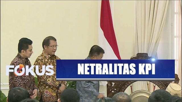Wapres Jusuf Kalla minta KPI menjaga netralitas dan independen di tengah persebaran informasi.