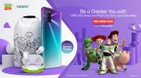 Edisi terbatas Oppo A92 Disney Bundling Pixar's Toy Story (Foto: Oppo)
