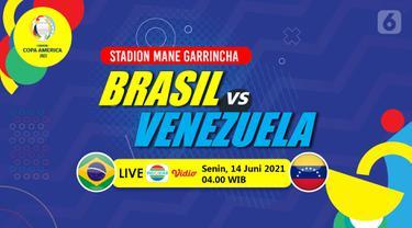Prediksi Brasil vs Venezuela