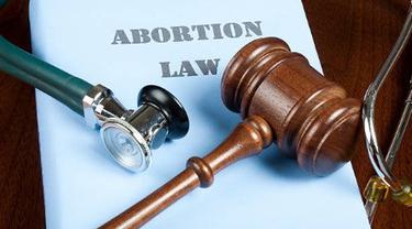 Ilustrasi hukum aborsi.