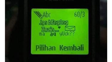 6 Potret SMS Bergambar Ini Jadul Banget, Bikin Nostalgia
