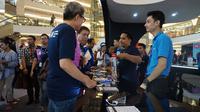 Gadget Invasion Week berlangsung di Mall Taman Anggrek Main Atrium, Jakarta mulai 4-9 April 2017. (Liputan6.com/Agustin Setyo Wardani)