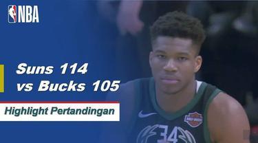 Kelly Oubre Jr. mencetak 27 poin dan mengumpulkan 13 rebound untuk Suns saat mereka menang atas Bucks 114-105.