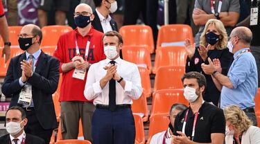Beri Semangat, Jill Biden Kenakan Seragam Tim AS di Olimpiade Tokyo 2020
