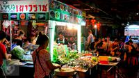 Suasana Street Food di Kota Bangkok (iStockphoto)