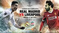 Prediksi Real madrid vs Liverpool  (Liputan6.com/Abdillah)