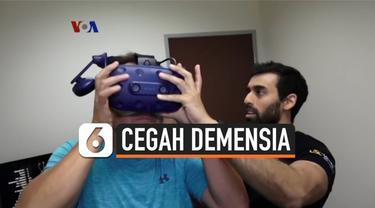 Banyak orang dewasa sedih melihat orangtua mereka mengalami penurunan fungsi kognitif dan gejala demensia. Kini para ahli di Universitas Southern California mencoba memanfaatkan teknologi realitas maya, atau VR, untuk membantu mencegah atau menunda t...