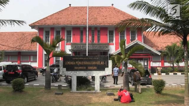 Ombudsman RI lakukan sidak ke lapas Sukamiskin, Bandung. Ditemukan kamar milik Setya Novanto lebih luas dibandingkan yang lainnya.