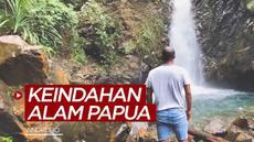 Berita video mantan bek Timnas Indonesia, Andri Ibo, memamerkan keindahan alam Papua, salah satunya air terjun Kampung Harapan di Sentani Timur.