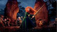 Merida dalam film animasi besutan Disney, Brave (Pinterest)
