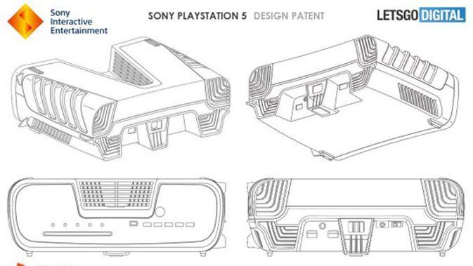 Sony daftarkan paten konsol PS5. (Doc: LetsGoDigital)