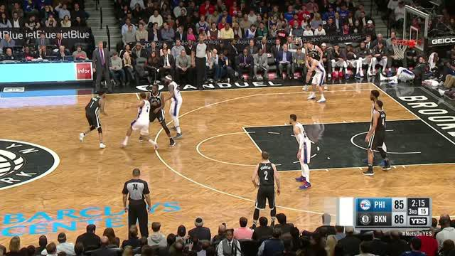 Berita video game recap NBA 2017-2018 antara Brooklyn Nets melawan Philadelphia 76ers dengan skor 116-108.
