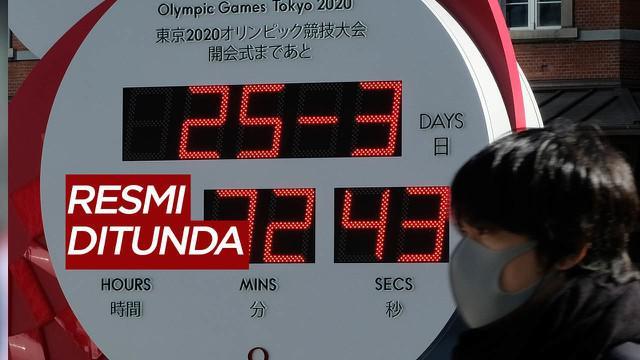 Berita Video Presiden IOC, Thomas Bach Tegaskan Olimpiade Tokyo 2020 Ditunda Tahun Depan Akibat Covid-19