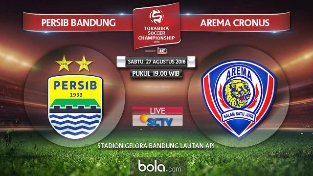 Persib Bandung Vs Arema Cronus Bola Com Adretitus