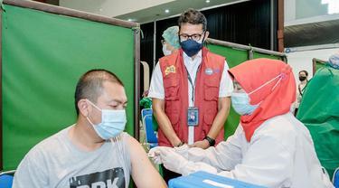 Kampus Pariwisata dan Kantor Badan Otorita di Bawah Kemenparekraf Disulap Jadi Sentra Vaksinasi Covid-19