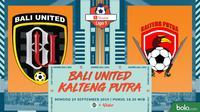 Shopee Liga 1 - Bali United Vs Kalteng Putra (Bola.com/Adreanus Titus)