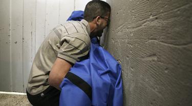 Pilu Warga Gaza Meratapi Korban Serangan Israel
