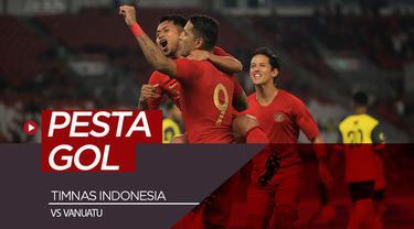 Berita video catatan pertandingan uji coba antara Timnas Indonesia melawan Vanuatu yang berakhir dengan skor 6-0, di mana Beto Goncalves menyumbang 4 gol, di Stadion Utama Gelora Bung Karno (SUGBK), Senayan, Sabtu (15/6/2019).