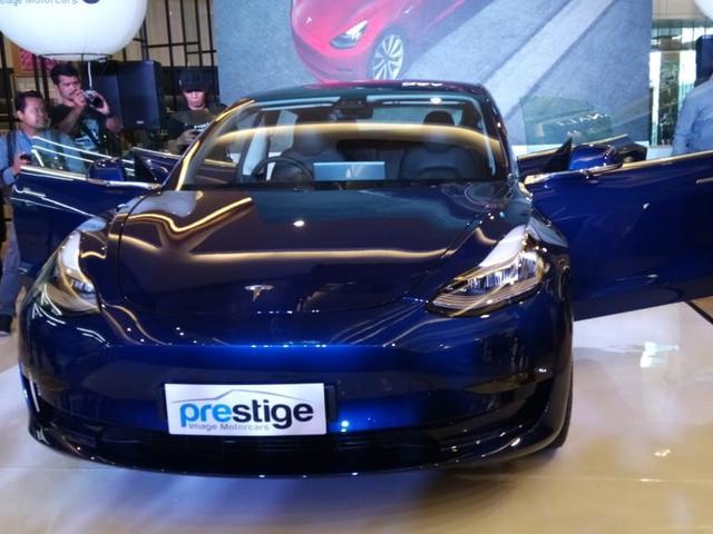 Tesla Termurah Resmi Mengaspal Di Indonesia Ini Spesifikasinya Otomotif Liputan6 Com