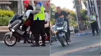 Video viral sepeda (Sumber: Instagram/energisolo)