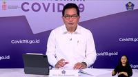 Koordinator Tim Pakar dan Juru Bicara Pemerintah untuk Penanganan COVID-19, Wiku Adisasmito dalam siaran langsung perkembangan penanganan COVID-19 di YouTube BNPB Indonesia, Selasa (2/3/2021). (Foto: Tangkapan layar YouTube BNPB Indonesia)