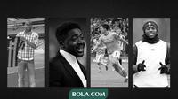 Empat pemain Manchester City yang dibeli dari Arsenal. (Bola.com/Gregah Nurikhsani)