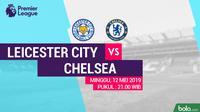 Premier League - Leicester City Vs Chelsea (Bola.com/Adreanus Titus)
