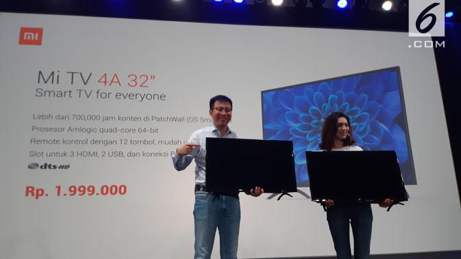 Resmi Meluncur, Ini Harga Xiaomi Mi TV di Indonesia - Tekno Liputan6 com