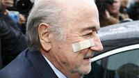Suspended FIFA President Blatter and European soccer boss Michel Platini were both banned for eight years on Monday by FIFA's Ethics Committee. REUTERS/Arnd Wiegmann TPX IMAGES OF THE DAY