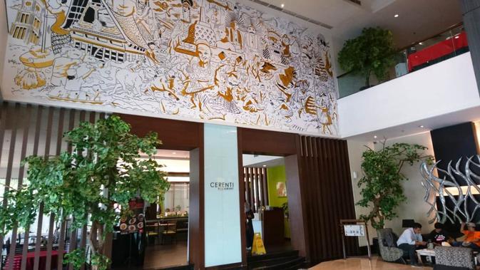 Nampak dalam desain Hotel Zuri, tempat menginap Timnas Indonesia (istimewa)