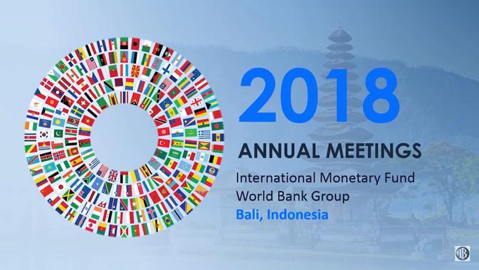 Simbol Pertemuan IMF-World Bank Group 2018 di Bali. Dok: Istimewa