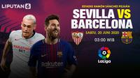 Prediksi Sevilla vs Barcelona (Trie Yas/Liputan6.com)