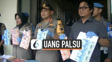 Polisi Temanggung berhasil mengungkap kasus pembuatan dan pengedaran uang palsu. Pelaku ditangkap saat akan gunakan uang palsu di pasar tradisional.