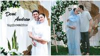 Keluarga Andrew Andika baru saja menggelar acara 4 bulanan untuk sang istri. (Sumber: Instagram/@tengkudewiputri_tdp)