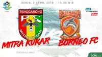 Mitra Kukar Vs Pusamania Borneo FC (Bola.com/Adreanus Titus)
