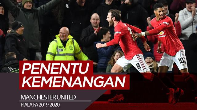 Berita video gol penentu kemenangan Manchester United atas Wolves pada replay babak ketiga Piala FA 2019-2020 dicetak Juan Mata. Seperti apa golnya?