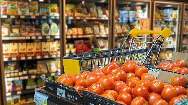 Ilustrasi Supermarket