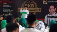 Muhaimin Iskandar saat pembukaan acara PKB Movie Award