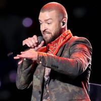 Penampilan Justin Timberlake dalam Superbowl 2018 (Just Jared)