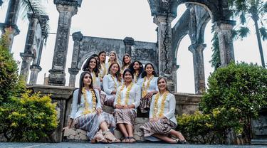 Alumni Miss Universe 2015 Reunian di Karangasem Bali, Apa yang Dilakukan?