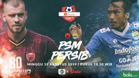 Shopee Liga 1 - PSM Makassar Vs Persib Bandung - Head to Head Pemain (Bola.com/Adreanus Titus)