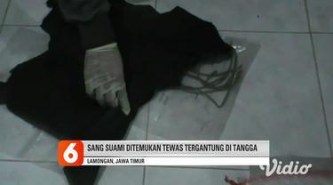 Pasutri ditemukan tewas di rumah saudara. Lamongan, Jawa Timur. Warno dan istrinya Jarwati ditemukan tewas di rumah Yamin, saudara dua korban yang letaknya bersebelahan dengan rumah korban di Desa Mertani, Karanggeneng, Lamongan.