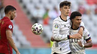 Foto Piala Eropa: Drama Enam Gol, Jerman Berhasil Perpanjang Nafas di Grup F Euro 2020 Setelah Tumbangkan Portugal