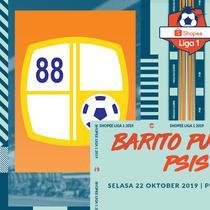 Shopee Liga 1 - Barito Putera Vs PSIS Semarang (Bola.com/Adreanus Titus)
