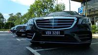 Merasakan menjadi penumpang Mercedes-Benz S-Class di Kuala Lumpur, Malaysia (Amal/Liputan6.com)
