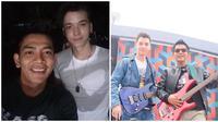 Kekompakan Stefan William dan Angga Putra bak saudara kandung. (Sumber: Instagram/@anggaptrh)