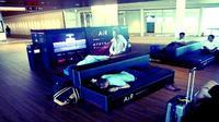 Sofa Mewah di Bandara Narita